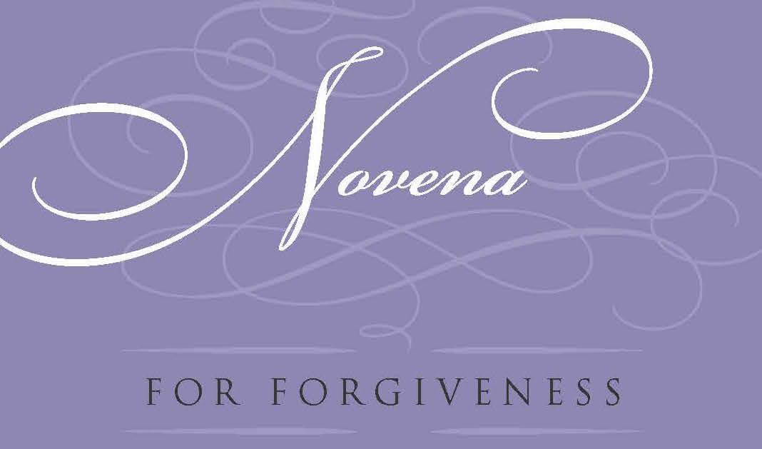 Novena for Forgiveness